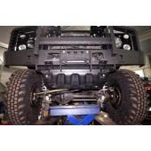 Защита рулевых тяг Land Rover Defender 90/110 (1998-) (Композит 12 мм)