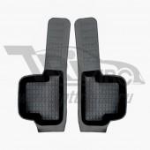 Коврики салона резиновые с бортиком для ВАЗ 2114 (1984-) боковые передние