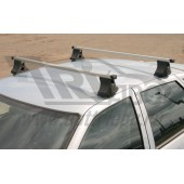 Багажник в сборе (ВАЗ 2110,2112) (аэродинамический профиль дуги) (алюмин.)