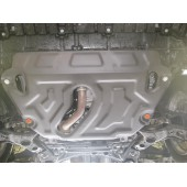 Защита картера двигателя и кпп Toyota Rav4 (V-2,5 2013-)  (Сталь 2 мм)