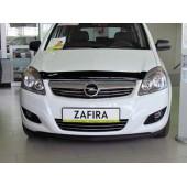 Дефлектор капота Opel Zafira B(2006-2012) (темный)