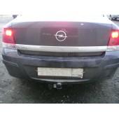 Фаркоп для Opel Astra (Опель Астра) Н sedan (2007-) без электрики,