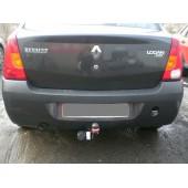 Фаркоп для Renault Logan (Рено Логан)(2005-2014) / Dacia Logan (2004-) .