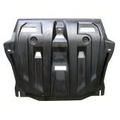 Защита картера двигателя и кпп Honda (Хонда) Cross Tour V-все (2011-)  (Композит 6 мм)