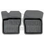 Коврики салона резиновые с бортиком для Mazda 3 (2013-) (2 передних)