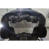 Защита картера двигателя и кпп Kia Ceed (Киа Сид) V-все (2015-)/Hyundai I30 (2015-) (Алюминий 4 мм)