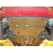 Защита картера двигателя и кпп Suzuki Swift V-все (2004-) (алюмин.) (Алюминий 4 мм)