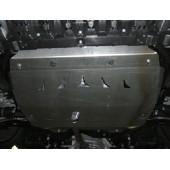 Защита картера двигателя и кпп Suzuki Kizashi V-все (2009-)  (Алюминий 4 мм)