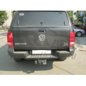 Фаркоп для VW Amarok (Амарок) Pick-Up с бампером (2010-)  крюк тип F ( грузоподъемность 2500 кг).