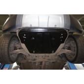 Защита картера двигателя и кпп RANGE ROVER Evogue V-2,0Ti;2,2TD (2011-)/Discovery Sport, V-все (2015-)  (Композит 8 мм)