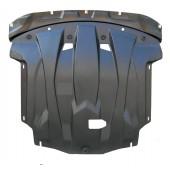 Защита картера двигателя и кпп KIA Optima (V-все, 2012-2013)  (Композит 6 мм)