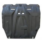 Защита картера двигателя и кпп Kia Soul (Киа Соул) (V-все, 2009-2014)  (Композит 6 мм)