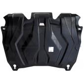 Защита картера двигателя и кпп Toyota Highlander (Тойота Хайлендер)(07-13,V-все; 2014-,V-2,7;3,5;АКПП)/Lexus RX270,350,450hV-все(09-15)(Композит 6 мм)