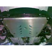 Защита картера двигателя и кпп Suzuki SX4 V-1,5 (2006-)  (Алюминий 4 мм)