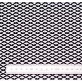 Сетка просечновытяжная сереб. (15мм)(25x100)