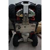 Защита днища, рычагов и подножек ATV Honda TRX500 FA (2016-)/ Honda TRX 420 FA (2016-) (Алюминий 4 мм)