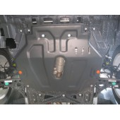 Защита картера двигателя и кпп Opel Mokka V-все (2012-) (Сталь 1,8 мм)