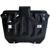 Защита картера двигателя и кпп Honda (Хонда) CR-V; V-2,0 (2012-2014-), V-2,4 (2012-2014) (Композит 6 мм)