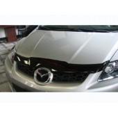 Дефлектор капота Mazda (Мазда) CX-7 (2006-) (темный)