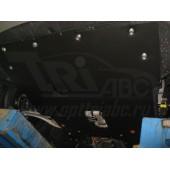 Защита картера двигателя и кпп Hyundai i40 (V-2.0, 2011-) + КПП штамп. (Сталь 1,8 мм)