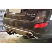 Фаркоп для Hyundai Santa Fe (Хёндай Санта Фе) (2012-)/Grand Santa Fe (2013-) / Kia Sorento (Киа Соренто) (2012-) 4х4, без электрики,.