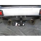 Фаркоп для Mitsubishi Pajero (Митсубиши Паджеро) Sport (Montero) GLX K90 (1998-2008) крюк тип F ( грузоподъемность 2000 кг).