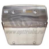 Защита картера двигателя и кпп VW MultivanT5/CaravelleT5/TransporterT5,V-все(09-15)/MultivanT6/CaravelleT6/TransporterT6,V-все(15-) (Алюминий 4 мм)