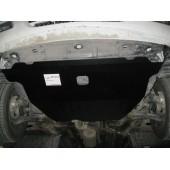 Защита картера двигателя и кпп Nissan Almera (Ниссан Альмера) Classic (V-все, 2006-) (Сталь 1,8 мм)