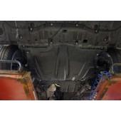 Защита картера двигателя и кпп Lexus RX, V-все (2016-)(композит 6 мм)