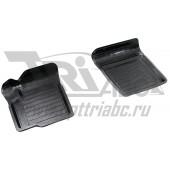 Коврики салона резиновые с бортиком для Suzuki sx 4 (2013-) (2 передних)