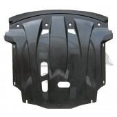 Защита картера двигателя и кпп Hyundai Grandeur, V-3,0(2012-) (Композит 6 мм)