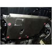 Защита картера Honda Civic 4DSD V-1,8 (2006-11) + КПП (алюмин.)