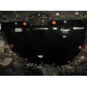 Защита картера двигателя и кпп Mazda (Мазда) 6 (V-все, 2007-2012)  штамп. (Сталь 1,8 мм)