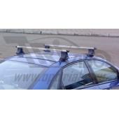 Багажник в сборе Chevrolet Aveo (Шевроле Авео) (T300) (2011г-...) SD(дуга 20х30)(алюмин.)