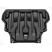 Защита картера двигателя и кпп Ford Focus V-1.6, 2,0 (2011-) / Grand C-Max V-1.6T, 2,0 (2011-)  (Композит 5 мм)
