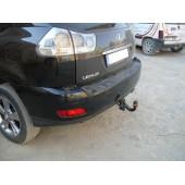 Фаркоп для Toyota Highlander (Тойота Хайлендер) (2001-2007)/Lexus RX 300/330/RX350 (2003-2009)