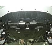 Защита картера Honda Cross Tour V-все (2011-) + КПП(алюмин.)