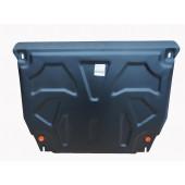 Защита картера двигателя и кпп Kia Sorento (Киа Соренто) (V-все, 2012-)  (Сталь 1,8 мм)