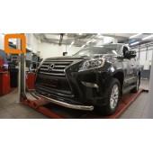 Защита переднего бампера Lexus GX460 (2014-) (одинарная) d 76