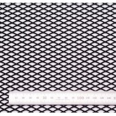 Сетка просечновытяжная черн. (15мм)(20x120)для Mondeo