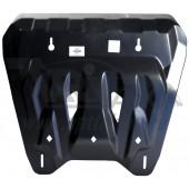 Защита картера двигателя и кпп NissanX-Trail (T31) V-все (2007-2014) (Композит 6 мм)