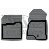 Коврики салона резиновые с бортиком для Chevrolet Captiva (2011-2013-) (2 передних)