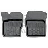 Коврики салона резиновые с бортиком для Ford Focus III(2011-) (2 передних)