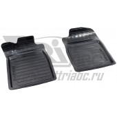 Коврики салона резиновые с бортиком для Honda CR-V (2012-) (2 передних)