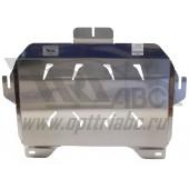 Защита картера двигателя и кпп Honda (Хонда) Accord V-2,4 ; 3,5 (2013-)/ACURA TLX; V-2,4 (2014-) + КПП (Алюминий 4 мм)