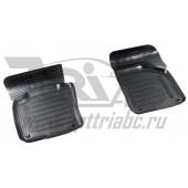 Коврики салона резиновые с бортиком для Volkswagen Golf 6 (2008-2012) (2 передних)
