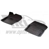 Коврики салона резиновые с бортиком для Mazda 3 (2007-2013) (2 передних)