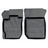 Коврики салона резиновые с бортиком для Renault Duster передний привод (2011-) (2 передних)