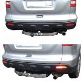 Фаркоп Honda (Хонда) CR-V (10/2006-2012) нерж. накладка, без электрик