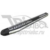 Пороги алюминиевые (Zirkon) Acura RDX (2014-)